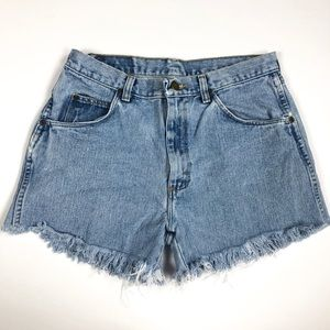 Wrangler High Waist Cutoff Shorts